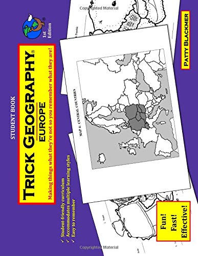 Trick Geography: Europe--Student Book: Making things what they're not so you remember what they are! - Slick Cube