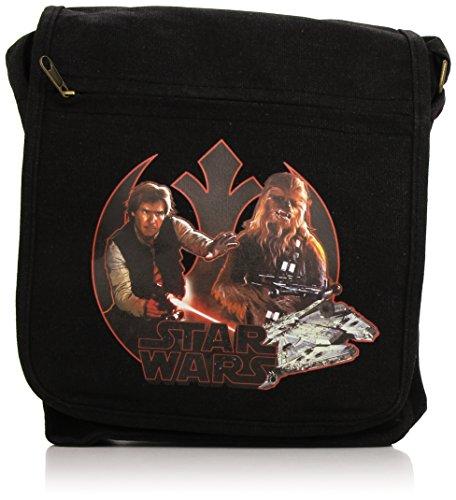 Star Wars Small Size Shoulder Tasche / Messenger Bag: Han Solo und Chewbacca