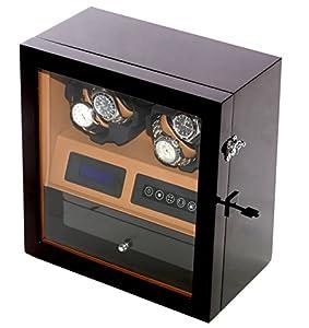 WATCH Winder carga relojes Digital con LED relojes para 4Relojes de Campione Collections