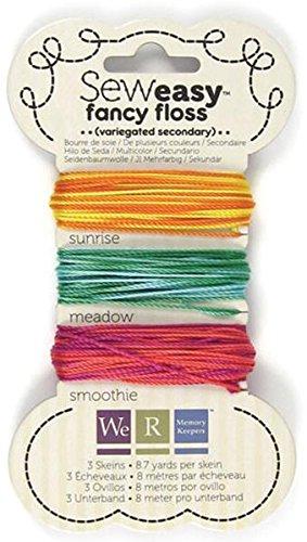 We R Memory Keepers Sew Easy Bunte Floss, Sekundär (Easy Sew Keepers Memory We R)