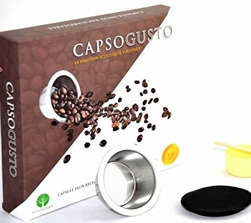 Capsule inox rechargeable compatible Dolce Gusto