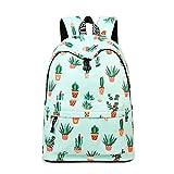 Inwagui Mädchen Schulrucksack Laptop Rucksack Schultaschen Damen Freizeitrucksack aus Polyester Kinderrucksack Schulran