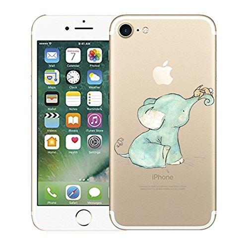 iPhone 7 hülle Schutzhülle Clear Case Cover Bumper Anti-Scratch TPU Silikon Handyhülle für iPhone 7 1