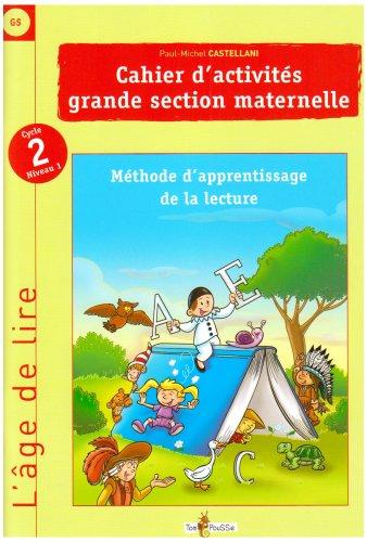 Cahier d'activités grande section maternelle