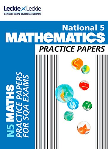 National 5 Mathematics Practice Exam Papers (Practice Papers for SQA Exams)