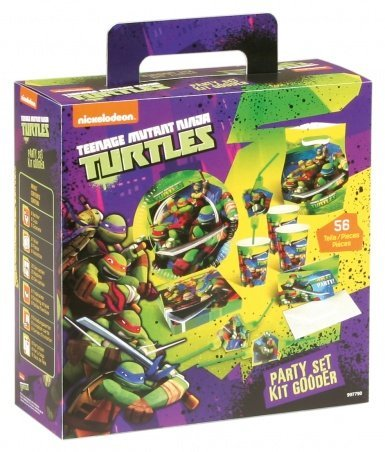 (Amscan 997790Teenage Mutant Ninja Turtle Party in a Box (6Stück))