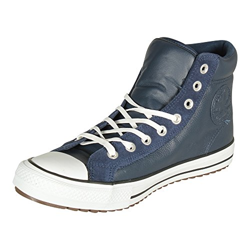 Converse Unisex CT AS Boot PC HI Schwarz Leder/Wildleder Sneaker Blau