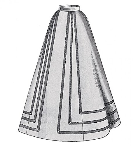 Historischen Kostüm Muster - McCall 's Cosplay Damen Schnittmuster 2025Historisches Kostüm für Damenrock