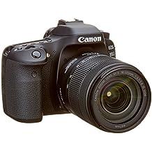 Canon EOS 80d EF-S 18–135IS Nano USM fotocamera reflex nero
