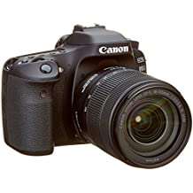 Canon EOS 80D EF-S 18-135IS Nano USM SLR Camera - Black