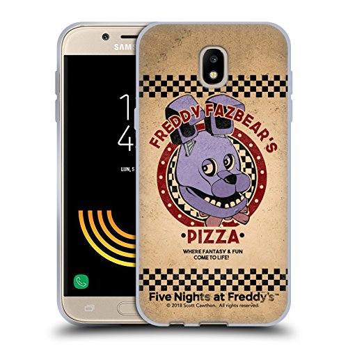 Official Five Nights At Freddy's Bonnie Freddy Fazbear's Pizza Soft Gel Case for Samsung Galaxy J5 (2017)