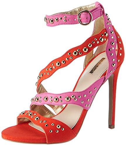 Carvela Damen Gladly NP Peeptoe Pumps, Rot (Red Comb), 41 EU (55 Toe Open Damen Schuhe)