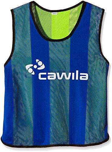 Cawila Wendeleibchen Trainingsleibchen, Royal-Blau/Gelb, One size, 00280352