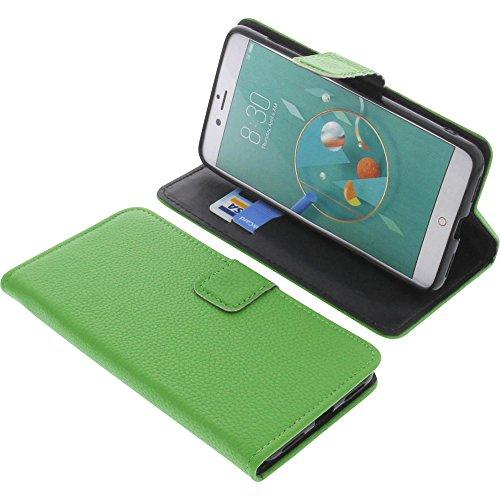 foto-kontor Tasche für Archos Diamond Alpha Plus Book Style grün Schutz Hülle Buch