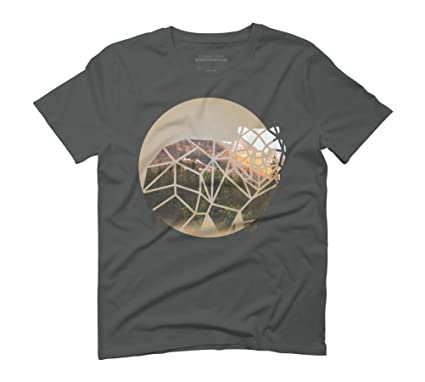 Bear Men's Small Anthracite Graphic T-Shirt - Design By Humans