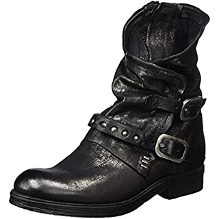 A.S.98 Damen Verti Biker Boots, Schwarz (Nero), 36 EU