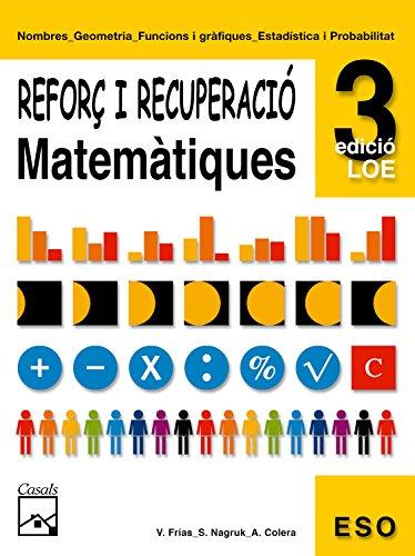 Reforç de matemàtiques 3 (Quaderns ESO) - 9788421833322
