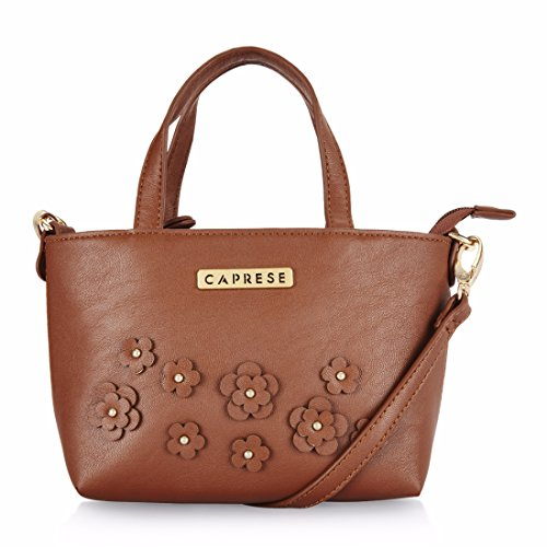 2a4e71e42 Caprese Lori Women s Sling Bag (Saddle Brown) Best Deals With Price ...