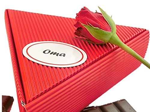 Geschenk Oma – Fruchtaufstrich Frühstücks Paket - 6x50ml | gut als Geschenkidee Oma, Seniorin, Großmutter, Geschenkbox Oma, Großmutter, Geschenk Set Oma, Großmutter, Großmama