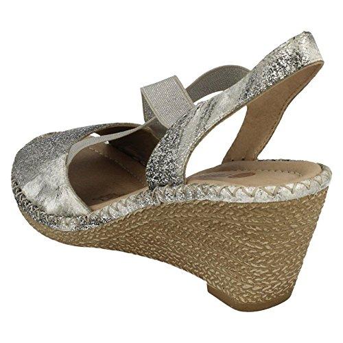 Remonte ,  Damen Sling Backs Silver/Platinum (Silver)