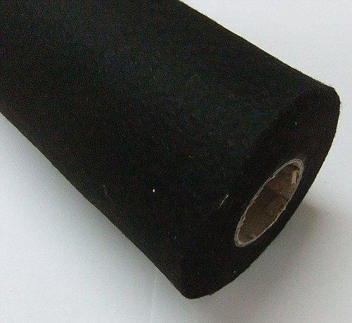 Playbox - Rollo de Fieltro acrílico (0,45 x 5 m, 160 g), Color Negro