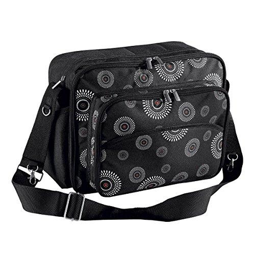 BABY-WALZ Wickeltasche Pflegetasche, schwarz