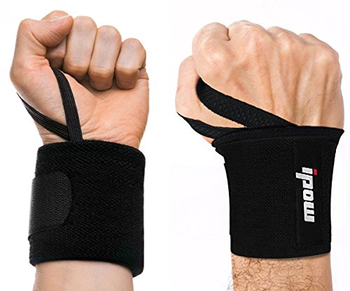 ipow-1-Pair-Black-Weight-Lifting-Wrist-Support-for-Women-Men-One-Size-Fits-All