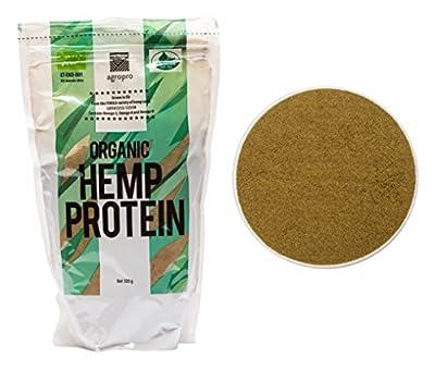 Organic Finola Hemp Protein Powder - Certified - 500g by Agropro