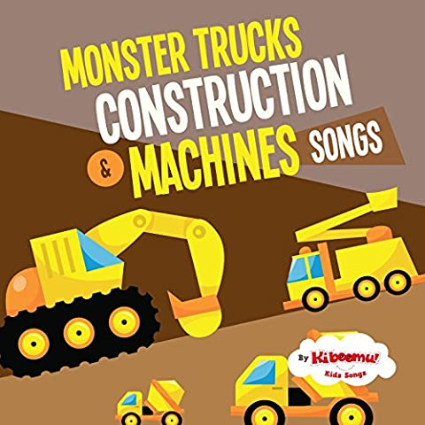 Monster Truck Race / Yellow, Red, Blue