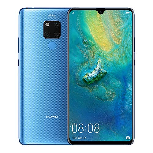 "Huawei Mate 20 X - Pack De Smartphone De 7.2"" FHD+ Y Band 3E (Octa-Core Kirin 980, 128 GB, 6GB RAM, Leica Triple Cámara, Azul [Exclusivo Amazon]"