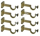 JAKABA Zinc Antique Brass Heavy Supports...