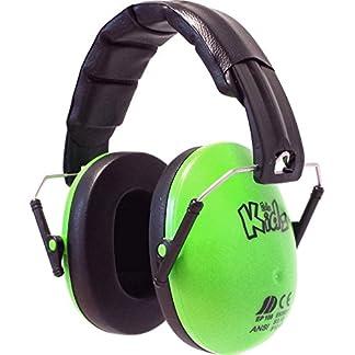 Edz Kidz. Protectores auditivos para niños. Protección auditiva para bebés, niños y adultos jóvenes. (Amarillo)
