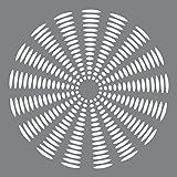 Pochoir en plastique deco Art Andy Skinner multimédia 8x 8-inch-sunburst