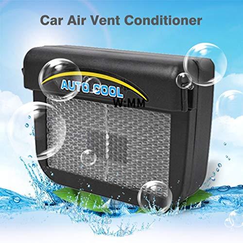 Conditionneur dair d/évent de Voiture Mini climatiseur d/énergie Solaire Qui respecte lenvironnement pour la Voiture Facile /à Installer