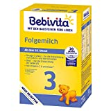Bebivita 3 Folgemilch - ab dem 10. Monat, 3er Pack (3 x 500g)