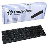 Laptop-Tastatur / Notebook Keyboard Ersatz Austausch Deutsch QWERTZ für Asus A53SV A53T A53TA A53U A53Z B53E B53F B53FA1B B53J B53JA1B B53S G51J G51Jx G51V G51VX G53JW G53SW (Deutsches Tastaturlayout)