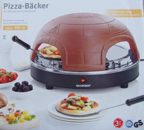 Four à pizza four à pizza boulangers dôme à pizza-pour 4 pour 4 personnes-mini pizzas 900 w partyspaß emporte-pièce en forme de 4 pelles à pizza