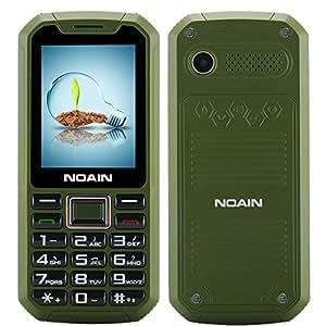 SHOPINNOV Téléphone portable robuste débloqué IP67 Resistant à l'eau, à la poussière et aux chocs Modèle Vert