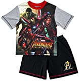 pyjama garçon short Marvel Avengers pyjamas Infinity GUERRE Gamora HULK tailles de 4 à 10 ans - Multicolore, 4-5 Years