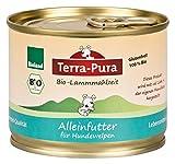 Terra Pura Bio Hundefutter Lammmahlzeit Welpen 200 g Glutenfrei, 24er Pack (24 x 200 g)