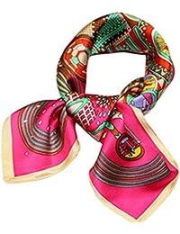 Helan femmes Réel Soie Naturelle 53cm X 53cm petits foulards de soie carrés 76b73c03686