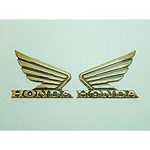2 Stück HONDA Motorrad-Tank-Aufkleber-Schriftzug-Emblem-Sticker Fahrradzubehör Radsport