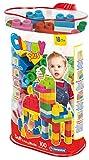 Clementoni - Bolsa con 100 bloques  blanditos, juguete para bebé...