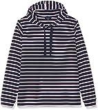 TOM TAILOR Denim Damen Größen-kuscheliger Sweatpullover Sweatshirt, Blau (True Dark Blue Strip 16358), 50