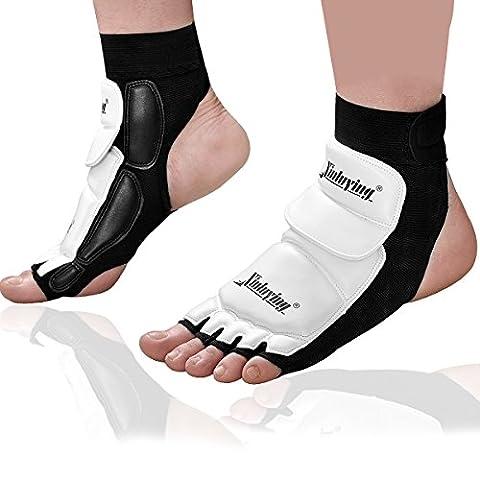 Xinluying Kid Women Men MMA UFC Taekwondo Boxing Foot Sock Pads Martial Art Sparring Puncing Bag Protective Gear