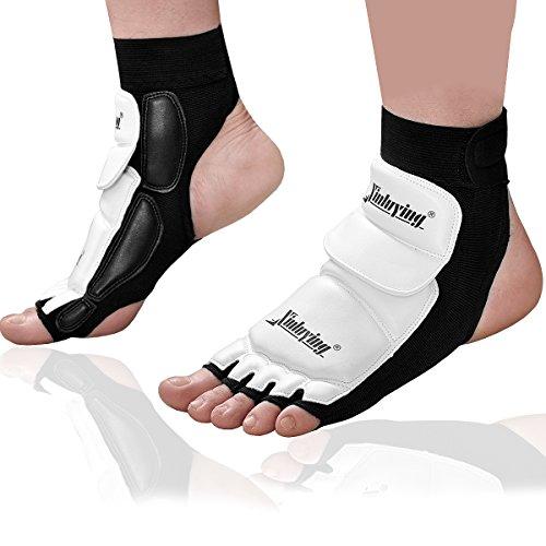 Xinluying Fußschützer Knöchel Schutzausrüstungen Pad für MMA UFC Boxen Taekwondo Martial Art Sparring Boxsack Training M (38-39)