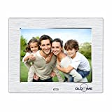 OLDTIME® 8-Zoll 4GB 1024*600 Digitaler Bilderrahmen Mediadirector Digitaler Bilderrahmen Display, SD Kartenslot, Video-Function, MP3 MP4 ,Elektronischer Bilderrahmen Mit Fernbedienung -Weihnachten Geschenk Present