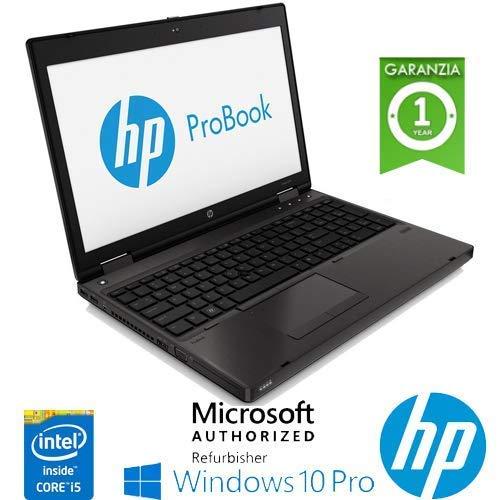 """Notebook HP ProBook 6470b Intel i5-3320M 4Gb 500Gb Webcam 14"""" Windows 10 Professional con licenza nuova Simpaticotech MAR Microsoft Authorized Refurbisher (Ricondizionato)"""