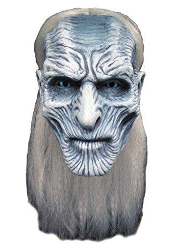 Snow Kostüm Adult Deluxe White - Adult Game of Thrones weiß Walker Maske