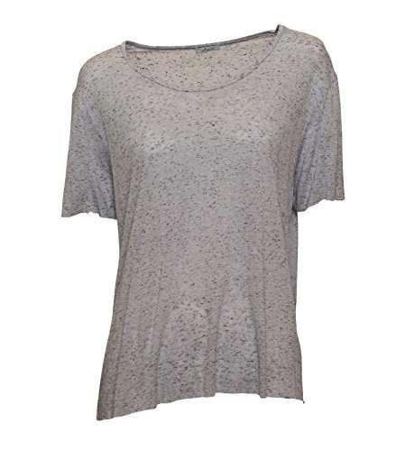 IHEART Damen T-Shirt Lauren in Grau meliert 423 glacier grey